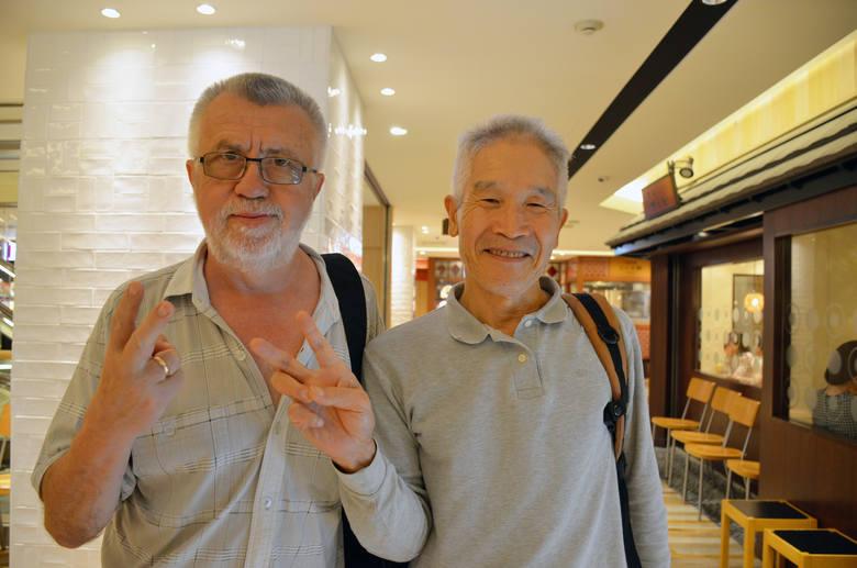 Janusz Traczykowski i Masakatsu Tagami spotkali się 14 września 2016 roku w Osace