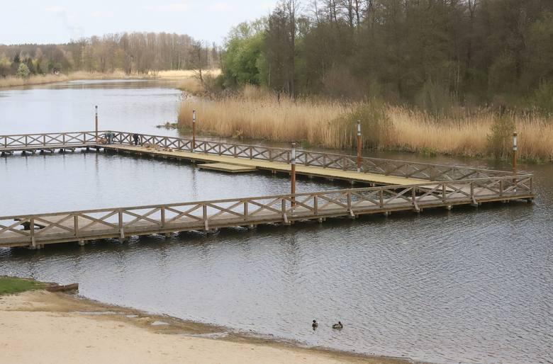 Sezon w Ośrodku na Jeziorem Kozienickim zakończył się 31 sierpnia, ale teraz jest tam równie pięknie jak latem. Co prawda na kąpiele trochę za zimno