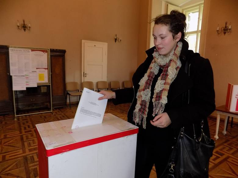 Dagmara Orszulak z Żagania głosuje po raz drugi w życiu.
