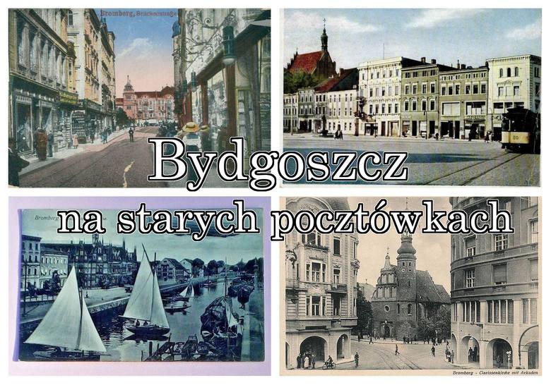 Taką Bydgoszcz podziwiać można tylko na starych widokówkach. Prezentujemy kartki pocztowe z końca ubiegłego wieku oraz te troszkę młodsze, kolportowane