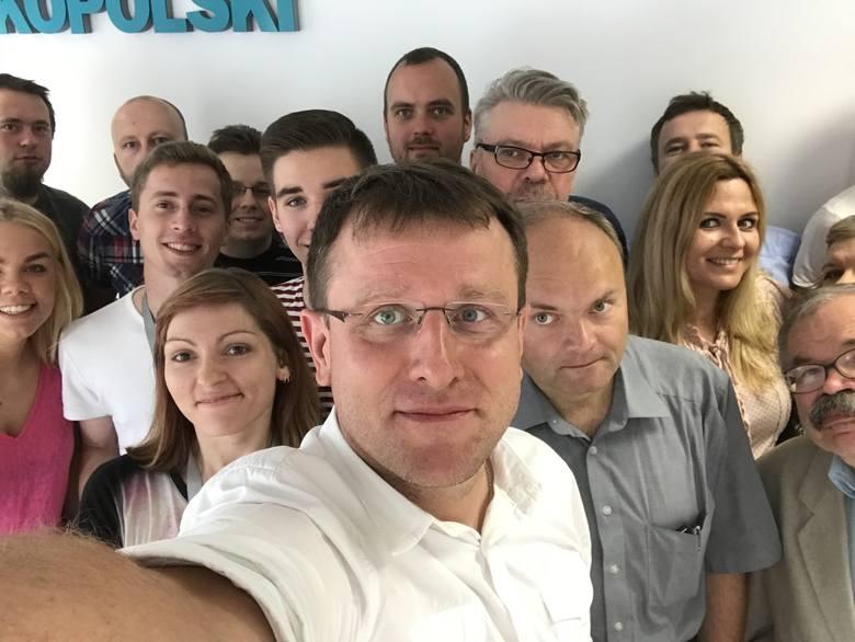 Selfie z Poznaniem na imieniny miasta. To my jesteśmy Poznaniem!
