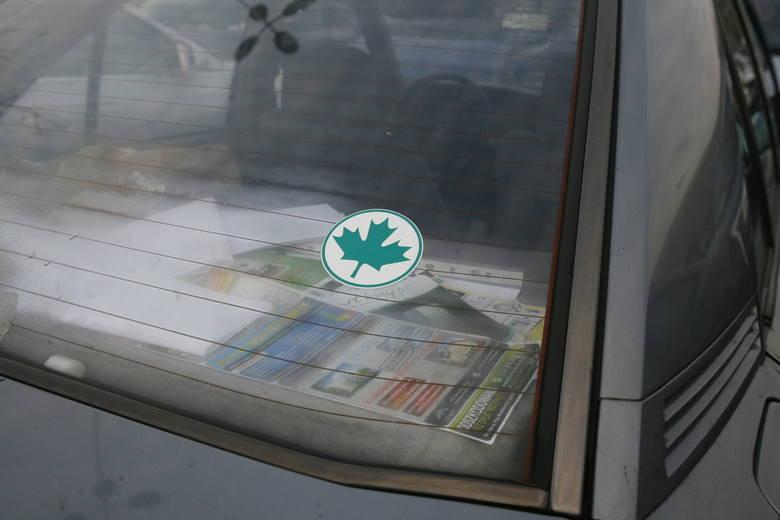 Oznakowanie samochodu naklejką z zielonym listkiem będzie obowiązkiem młodego kierowcy. Taką naklejkę na samochodzie kierujący powinien wozić do 8 miesięcy