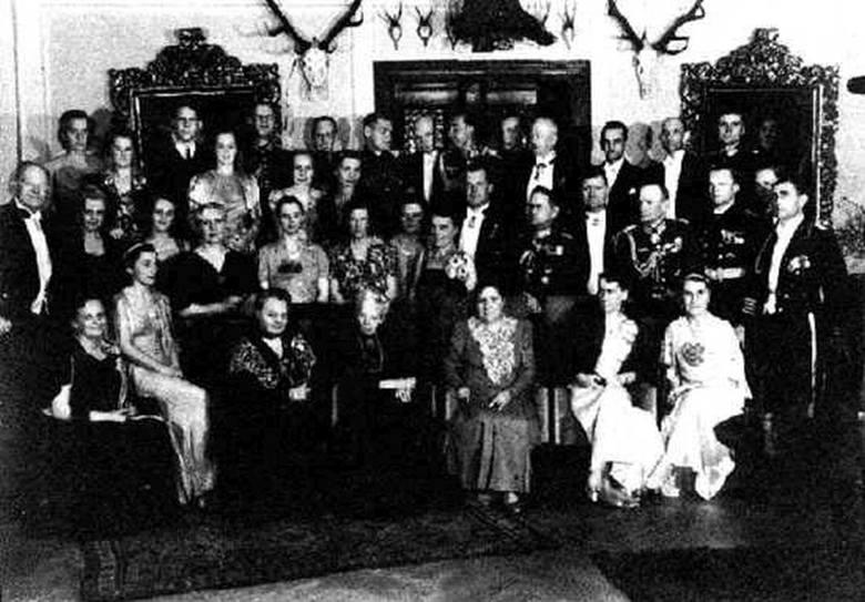 Zjazd Studnitzów pod koniec lat 30. XX wieku.