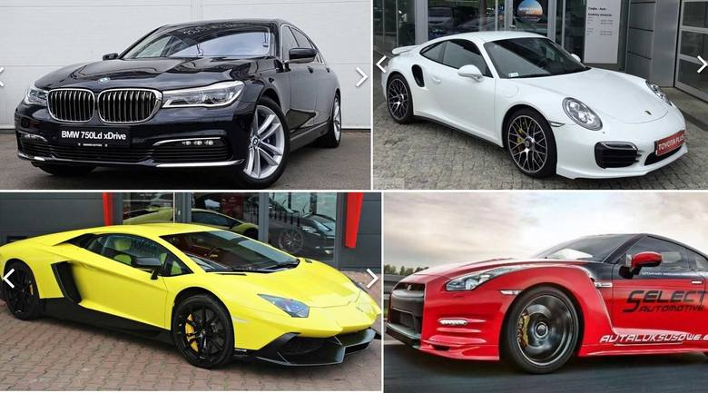 Ile kosztują najdroższe używane auta? Postanowiliśmy sprawdzić to na portalu gratka.pl Wybraliśmy ponad 40 aut. Ceny zaczynają się od 500 tysięcy złotych.