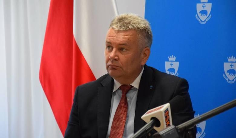 Janusz Hamryszczak, kandydat PiS na prezydenta miasta Przemyśla