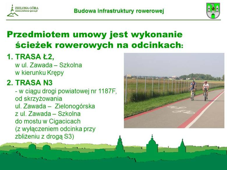 Umowa podpisana. Pojawią się nowe ścieżki rowerowe. Dokąd pojedziemy z Zielonej Góry?