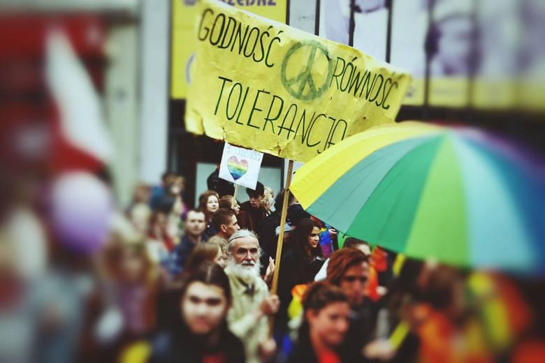 marsz równości, marsz równości w Zielonej Górze, festiwal równości