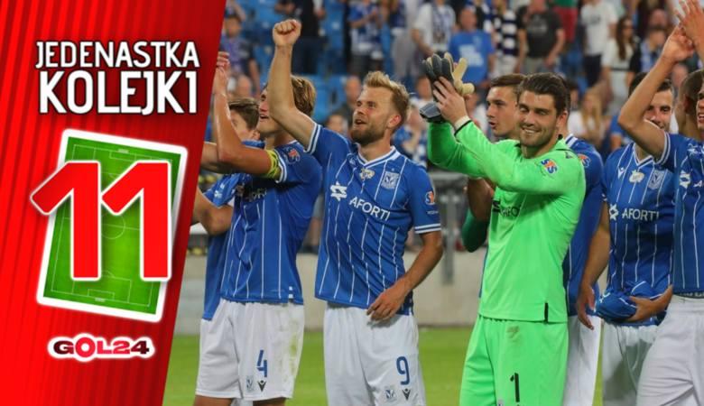 PKO Ekstraklasa. To brzmi niewiarygodnie, ale rzeczywiście zdarzyło się w jeden weekend; swoje mecze wygrali obaj beniaminkowie, Lech Poznań wbił aż
