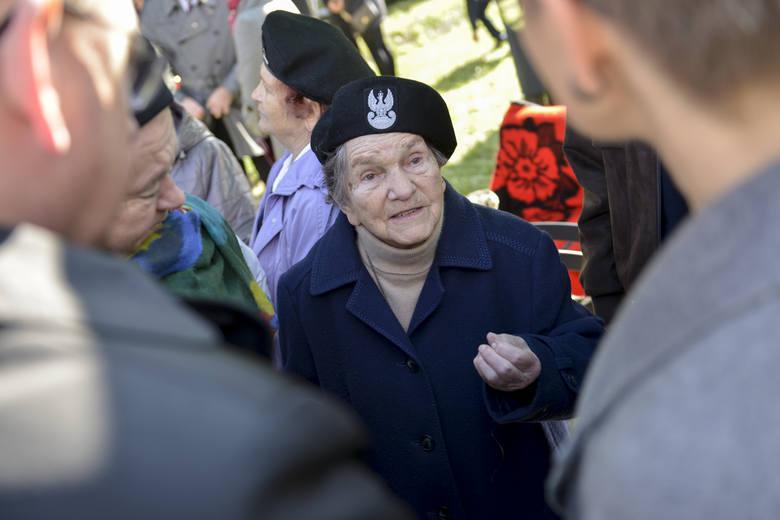 Wanda Traczyk-Stawska chętnie przyjeżdża do CMJW w Łambinowicach i lubi spotykać się z harcerzami.