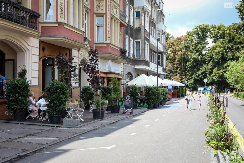 Ogródki gastronomiczne w centrum Szczecina. Zobacz, jak wyglądają
