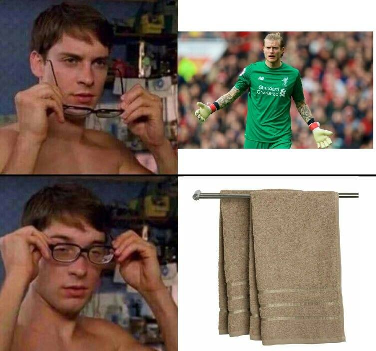 Memy o meczu Real - Liverpool: Karius to po niemiecku ręcznik? [GALERIA]