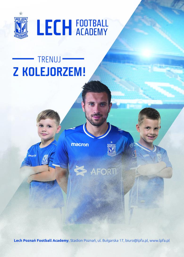 LPFA - Lech Poznań Football Academy - szkółka piłkarska KolejorzaKontakt – ul. Bułgarska 17 Poznań, nr tel. 732 922 922, strona: lpfa.pl Grupy wiekowe