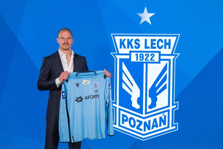 Filip Bednarek od przyszłego sezonu będzie bronił w Lechu Poznań.