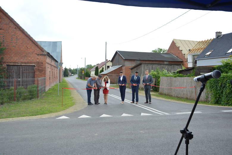 Otwarcie drogi w miejscowości Klasztorne