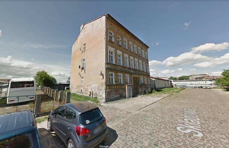 Ul. Składowa 2 w Szczecinie, budynek mieszkalny, pustostan