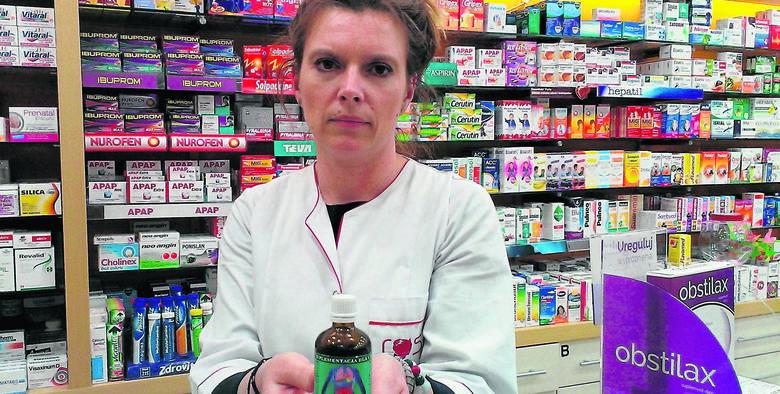 Pacjenci chętnie kupują ziołowy lek zwalczający pasożyty - mówi  Magdalena Wacławek.