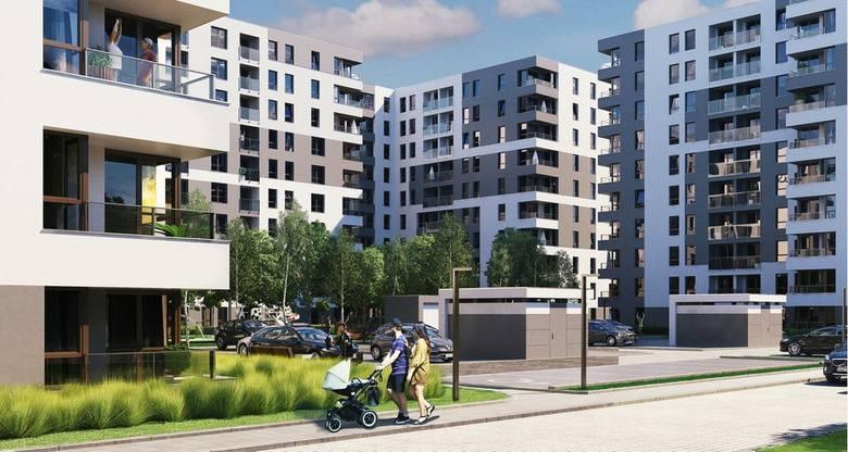 Piasta Towers - jedna z inwestycji dostępnych w ramach MdM