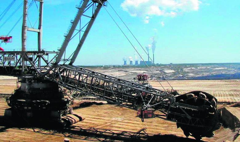 Koparki pracujące w KWB Bełchatów są jednymi z największych na świecie