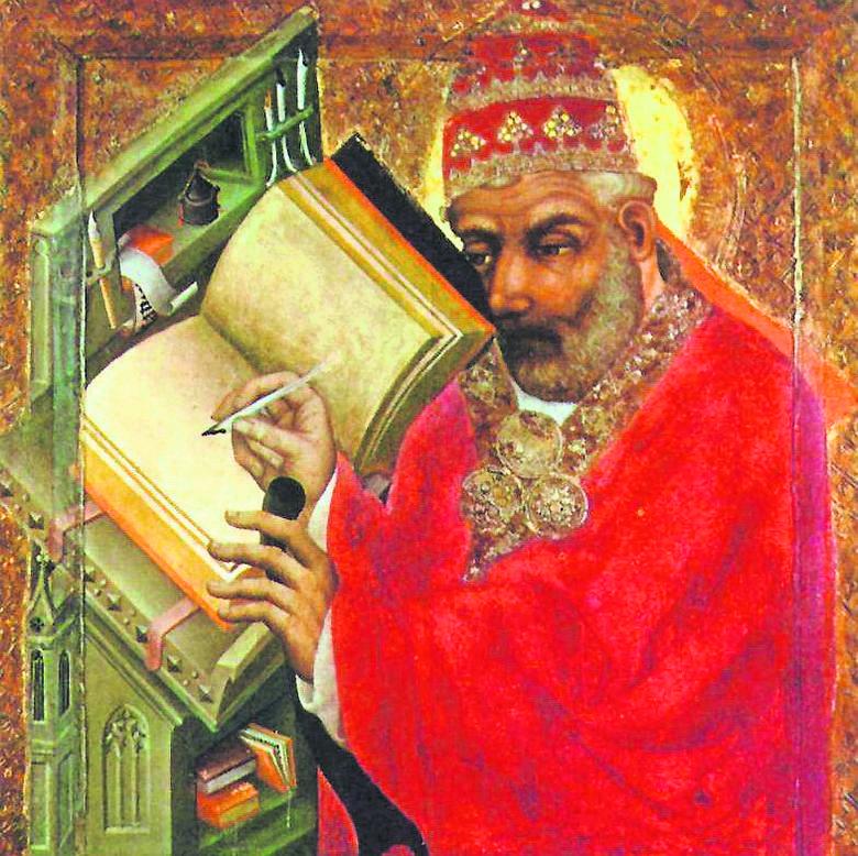 Mistrz Teodoryk z Pragi, Św.  Grzegorz Wielki