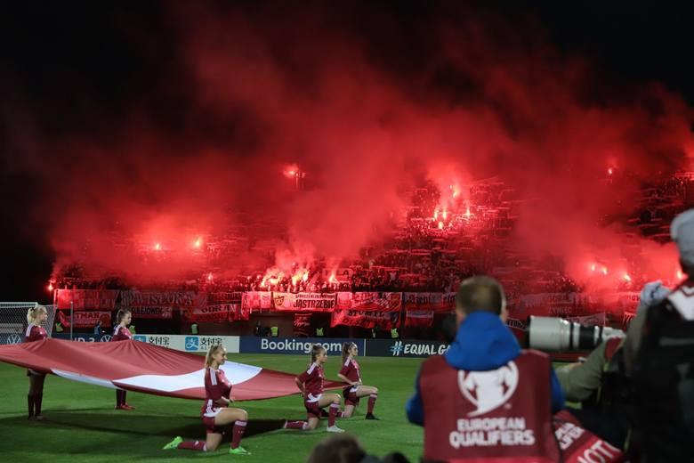 El. Euro 2020. Biało-czerwona dominacja. Kibice na meczu Łotwa - Polska [ZDJĘCIA]