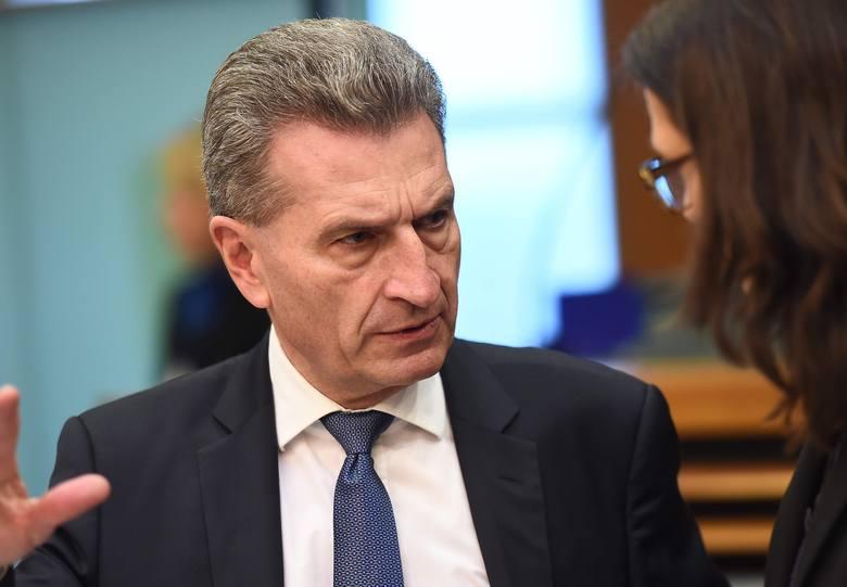 Günther Oettinger: Roczny budżet UE może się zmniejszyć nawet o 13 mld euro. To wymusza cięcia