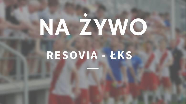 RESOVIA - ŁKS RELACJA NA ŻYWO 10.04.2021. Resovia - ŁKS. Kompromitacja łodzian w Rzeszowie