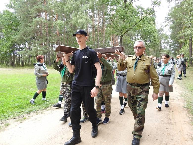 Treblinka. Co roku odbywają się uroczystości patriotyczno-religijne w Karnym Obozie Pracy Treblinka I.