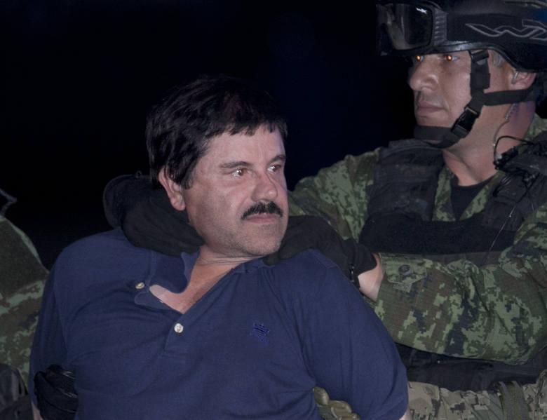 """Słynny """"El Chapo"""" w końcu złapany."""