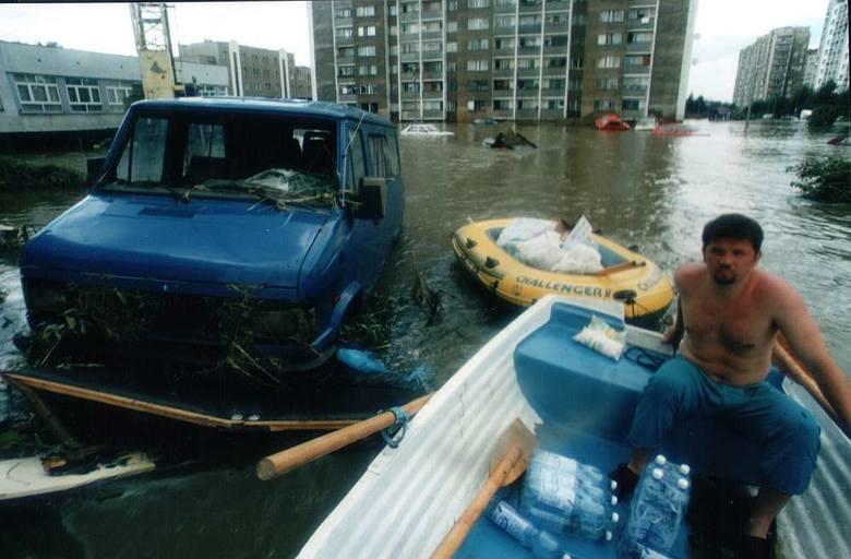 Powódź 1997 w Opolu.