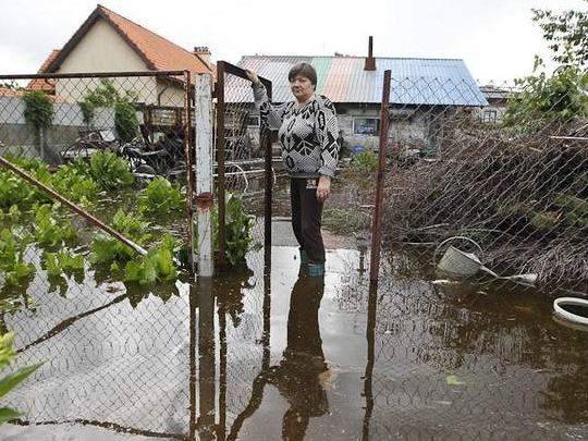 Powódź w Trześni [ZDJĘCIA]