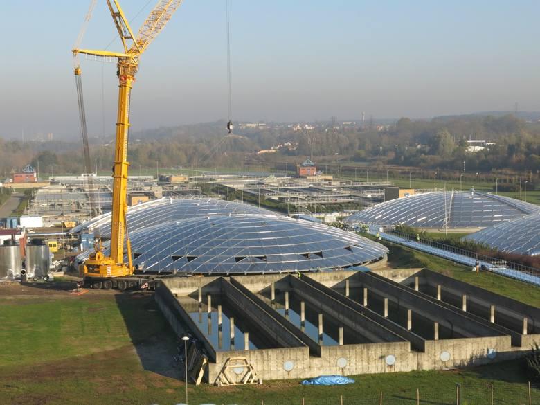 W 2007 roku na terenie Centralnej Oczyszczalni Ścieków w Koziegłowach uruchomiono Stację Termicznego Suszenia Odpadów. Kosztowała 100 mln zł, na inwestycję