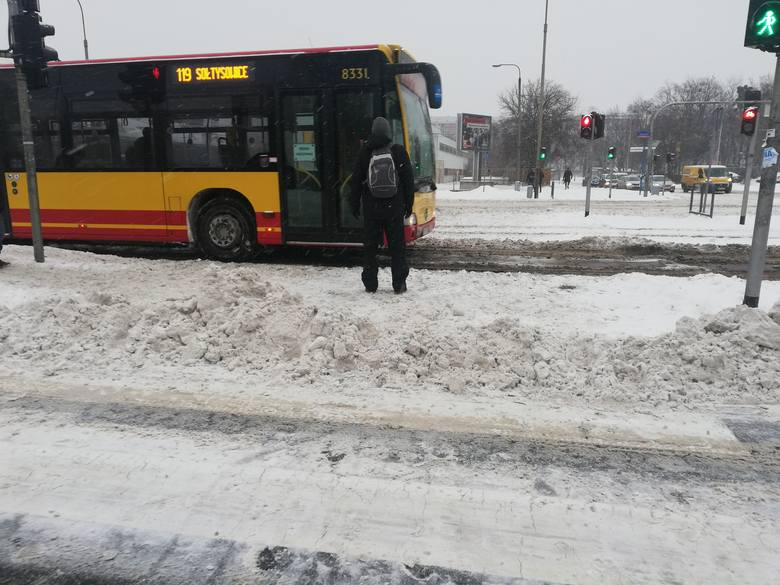 Horror! Wasze relacje z poniedziałkowego poranka we Wrocławiu [ZDJĘCIA]