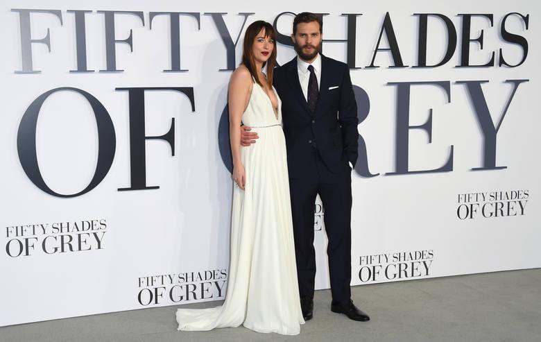 """Jamie Dornan i Dakota Johnson """"Pięćdziesiąt twarzy Greya"""""""