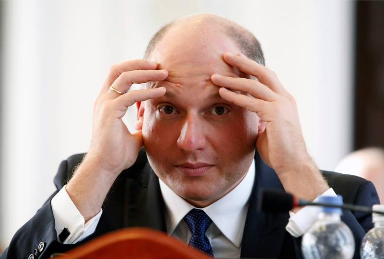 Łukasz Magin, były łódzki radny PiS, odwołany ze stanowiska prezesa Przedsiębiorstwa Gospodarki Mieszkaniowej w Bełchatowie