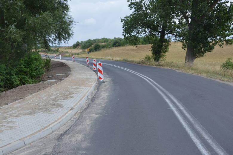 Małymi kroczkami gmina Skąpe tworzy kolejne odcinki ścieżek rowerowych