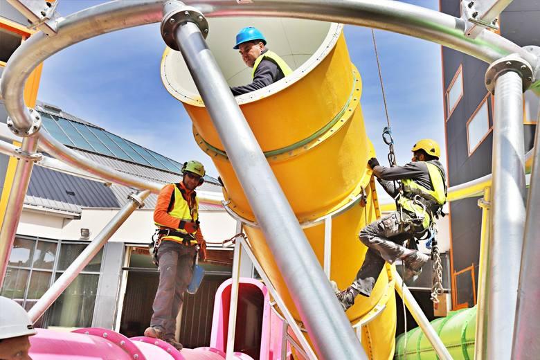 Nowe atrakcje w łódzkim aquaparku