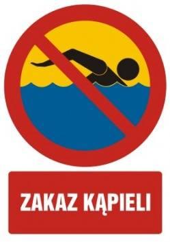 Zakaz kąpieli na kąpielisku morskim Świnoujście - Centrum!