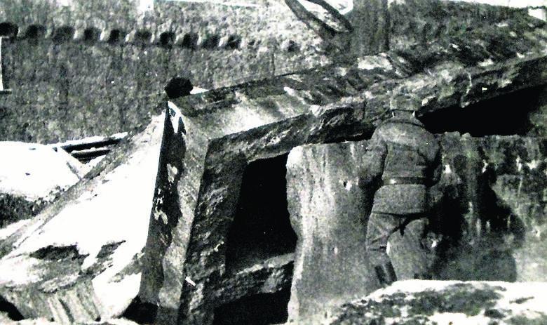 Tak żołnierze wysadzali bunkry w Książu