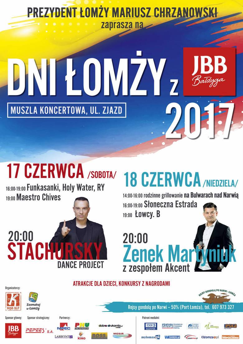 Dni Łomży. Zenek Martyniuk, kabaret Łowcy.B, Stachursky (wideo)