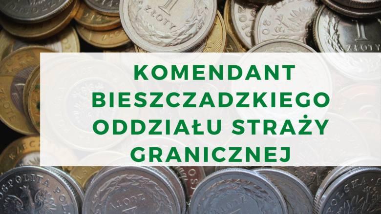 ROBERT ROGOZKomendant Bieszczadzki Oddziału Straży GranicznejPRZYCHODY:Wynagrodzenie 180 921,60 zł