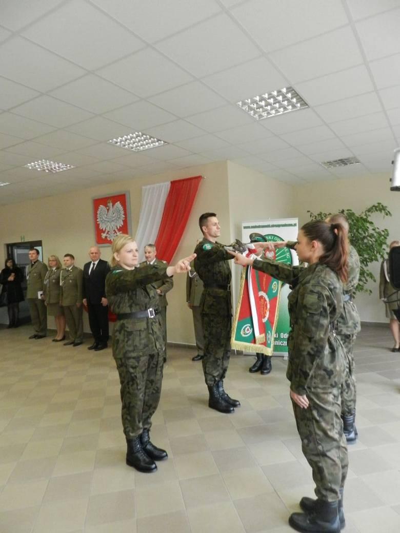 10 lutego 2016 r. w Komendzie Nadodrzańskiego Oddziału Straży Granicznej w Krośnie Odrzańskim uroczyste ślubowanie złożyło 30 nowych funkcjonariuszy