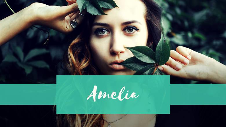 Jeśli wybierasz się do Grecji - twoje imię może źle się kojarzyć. Po grecku Amelia oznacza wadę wrodzoną polegającą na braku kończyn.