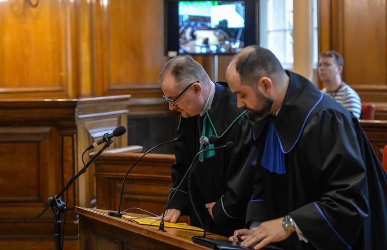 Sąd okręgowy w Gdańsku XV wydział cywilny. Ogłoszenie wyroku w sprawie Kaczyński Jarosław przeciwko Lechowi Wałęsie o pomówienie i naruszenie dóbr o