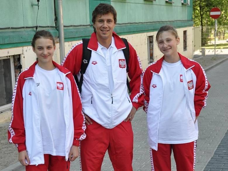Wiktoria Nieszporek, Marcin Młynarczyk i Paulina Piechota