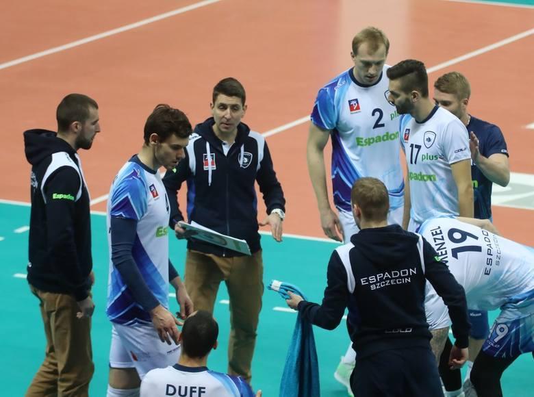 Espadon Szczecin przegrał z Treflem Gdańsk. Wstydliwy rekord wyrównany