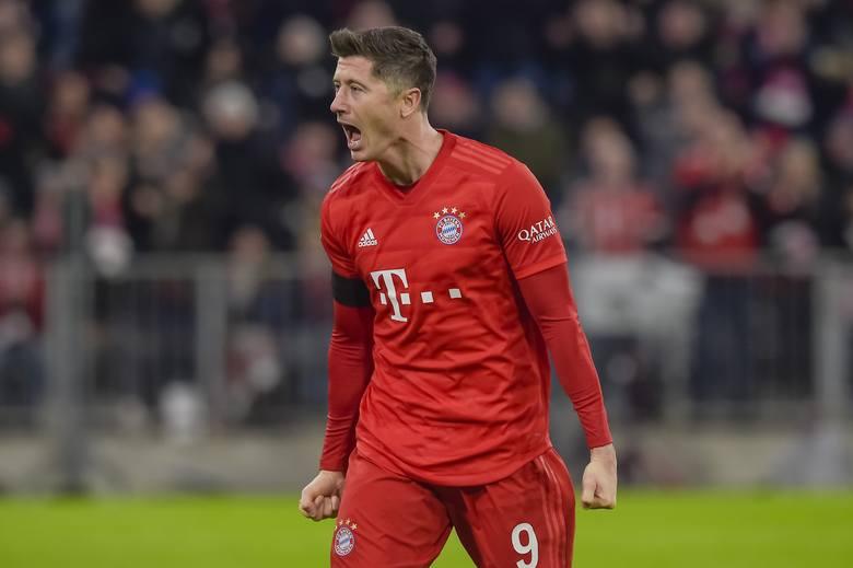 Kolejny mecz i kolejny gol Lewandowskiego. Bayern wygrał z Eintrachtem