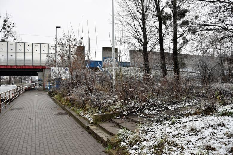 Centrum przesiadkowe Opole Zachodnie. Na tym terenie ma być realizowana inwestycja.