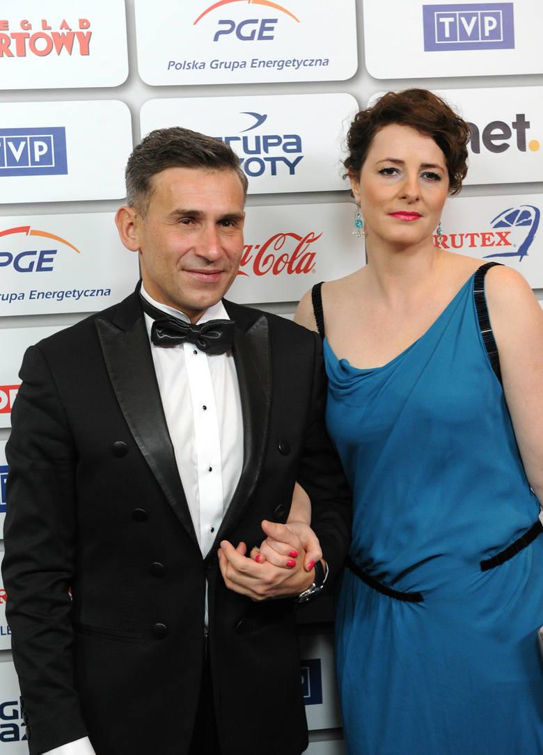 Bal Mistrzów Sportu. Na zdjęciu: Robert Korzeniowski i Magdalena Kłys