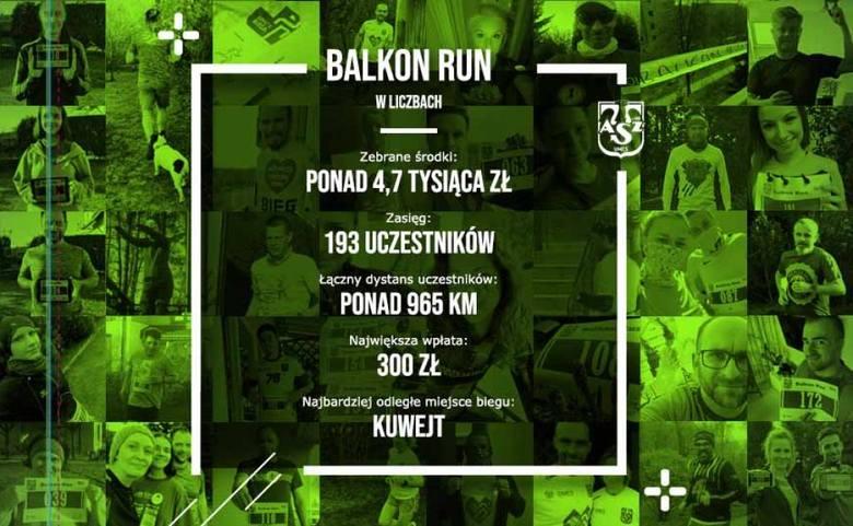 AZS Balkon Run zakończony sukcesem. Udało się zebrać znacznie więcej niż planowano