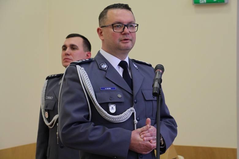 Adam Kachel awansował i przenosi się do Komendy Głównej Policji
